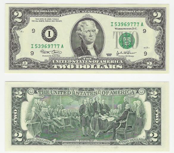 The $2 Bill