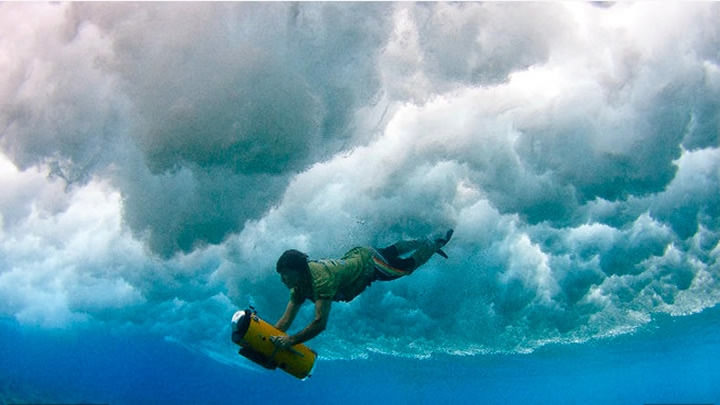 Mike-underwater