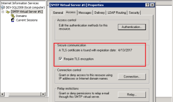 How to create a Sha256 Self-Signed Certificate for SMTP secure communication by CertReq