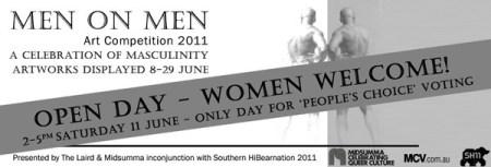 Men on Men Art Competition 2011