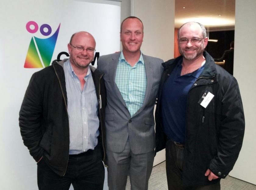 Daniel Kowalski, Mikey & Gregory at Goldman Sachs; August 2 2012