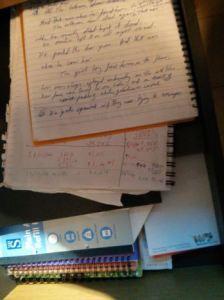 my writing drawer