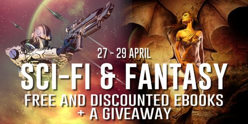 Horror Sale and a Sci-Fi and Fantasy Bargain Books and Giveaway