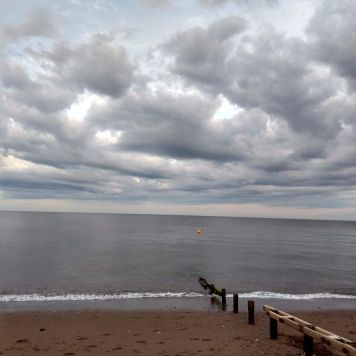 A moody sky