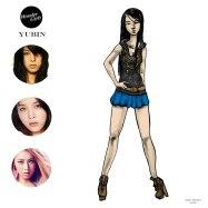Mikey Espinosa - WonderGirls instagram post - Yubin