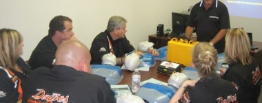 CPR / AED MIKEY Training at Davies Harley Davidson