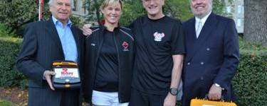 Police officer running a three day relay, five months after rebounding from sudden cardiac arrest