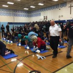 CPR Training Day at Cardinal Leger SS