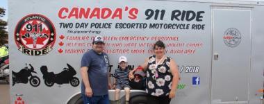 Canada's 911 Ride Atlantic Region Makes A Special Stop