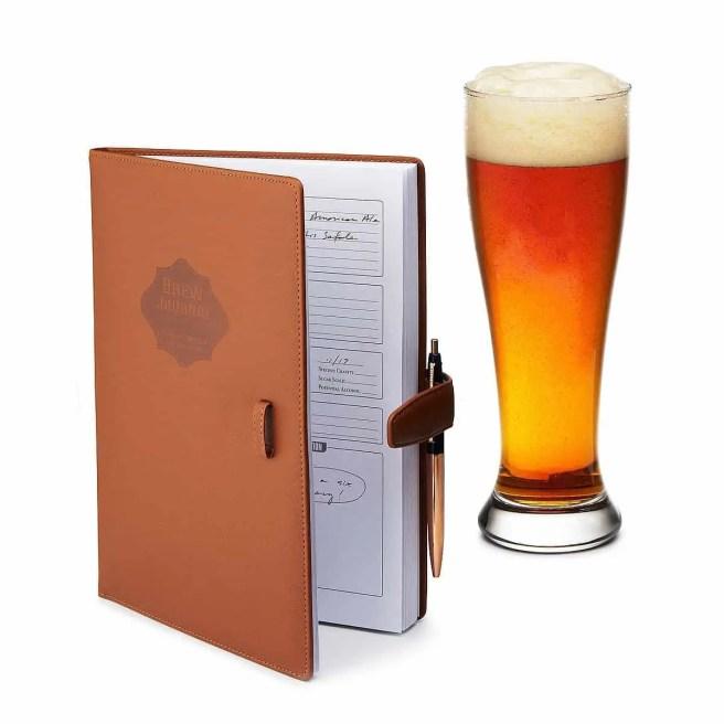 home brewing logbook