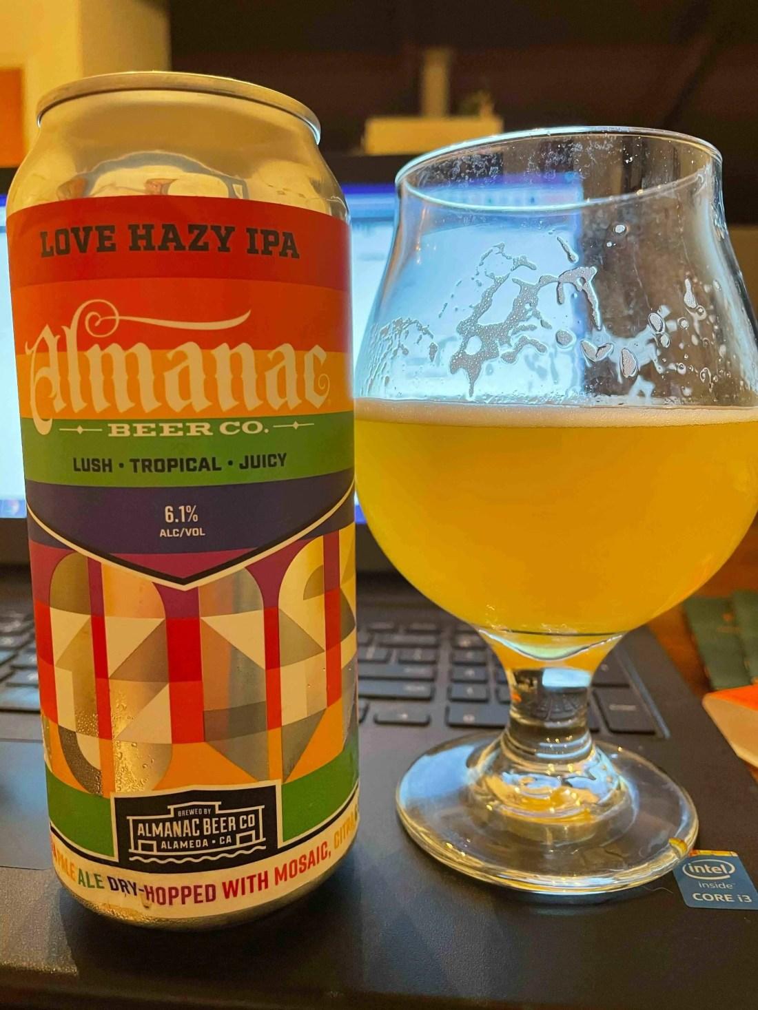 Love Hazy IPA Pride Beer
