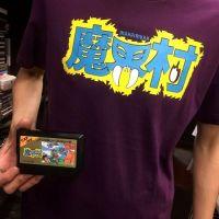 今日のゲームTシャツ:ファッションセンターしまむらの『魔界村』『ファイナルファイト』Tシャツ