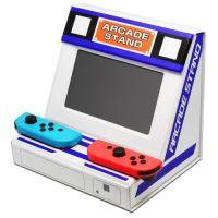 ゲームセンター気分を味わおう!ニンテンドースイッチがアーケード筐体風になる「折りたたみアーケードスタンド」が発売に!