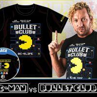 パックマンと新日本プロレスのコラボ!「PAC-MAN vs BULLET CLUB」Tシャツが発売に!
