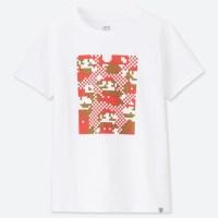 ユニクロのUTにて、マリオの新作Tシャツ「ニンテンドー スーパーマリオ ファミリーミュージアム」が登場!4/1から販売開始!