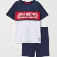 クールなデザイン!H&Mにて「SUPER NINTENDO」デザインのパジャマが発売に!