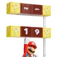 ブロックを叩いてるみたい?!海外のスーパーマリオの万年カレンダーが超かわいい!