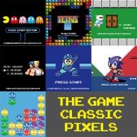 ビデオゲームをピクセルアートで表現したコレクション!ユニクロUTの新作「ザ ゲームクラシックピクセルズ」9/23に発売に!