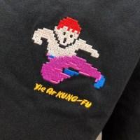 今日のゲームTシャツ:WEGOの「KONAMIレトロゲーム」コラボ!『イー・アル・カンフー』刺繍Tシャツ