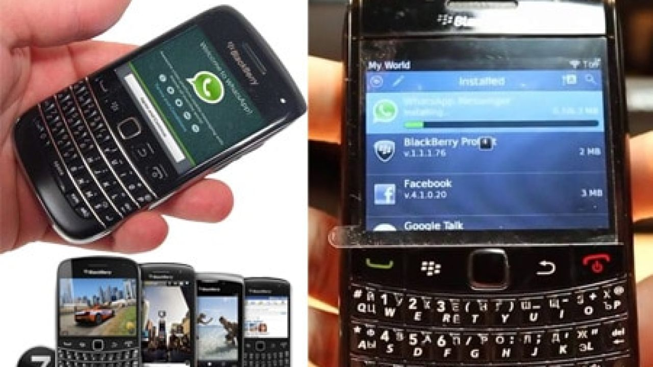 Howto setup whatsapp messenger on blackberry Bold 5, 9790, Curve and