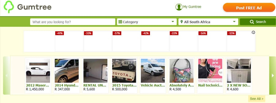 Gumtree South Africa - Gumtree.co.za online Classified Advertisement