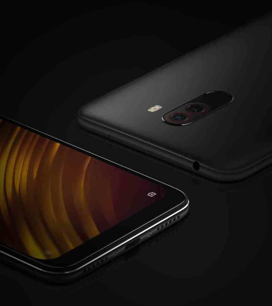 Xiaomi Pocophone F1 All the ports you need