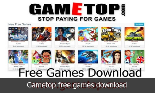 Gametop: Howto download free PC Games for windows 10, Mac and other device