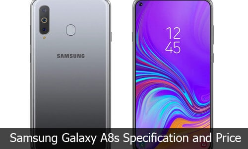 Samsung Galaxy A8s Review, Specification and Price