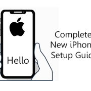 New iPhone Setup guide