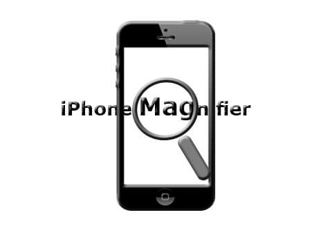 iPhone magnifier
