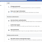 Prevent my Facebook Account from being hacked