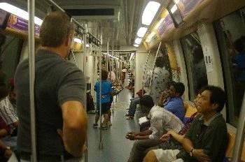 metro Cingapura - MRT