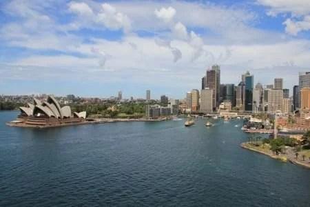 Vista da Harbour Bridge