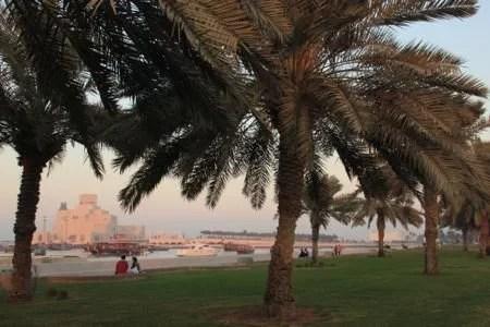 Fim de tarde no Corniche