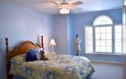 22 Clover Leaf Blue Bedroom