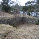 Borgmuren sett fra nordøst