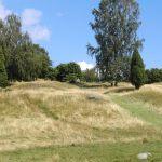 Et av gravfeltene ved Birka.