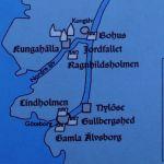 Kartskisse fra oppslag på stedet