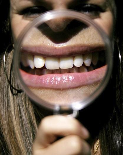 teeth tooth bleach white