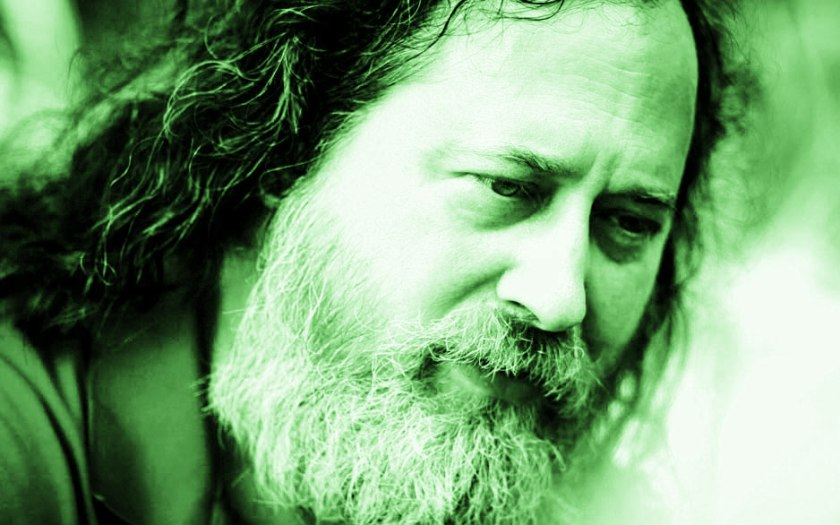 green richard stallman closeup