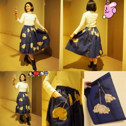 Handmade Circular Yukata Skirt