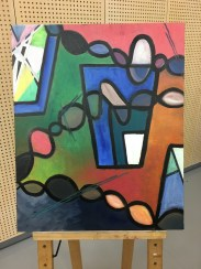 Oil and Gesso: Fourth phase