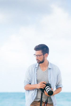 Mikolaj Walczuk - Photographer. Photo by Naomi Mazda