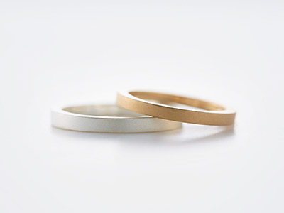 マット 結婚指輪
