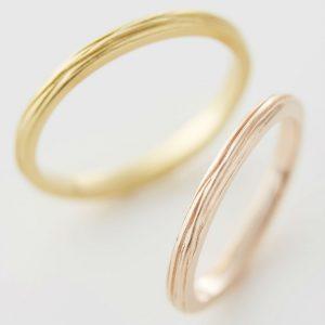 彫り 結婚指輪 オーダーメイド