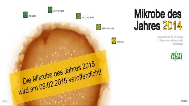 Mikrobe des Jahres 2014
