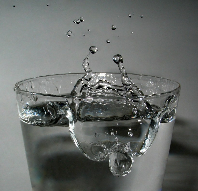 Ein Glas Trinkwasser aus dem Wasserhahn enthält 10 Millionen Bakterien