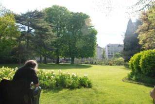Paris Luksemburg Bahcesi-Seyda Gumus