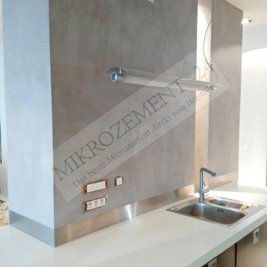 Mikrozement-24.de_F-Floor_F-Wall_Küche_Betonlook_Industrie