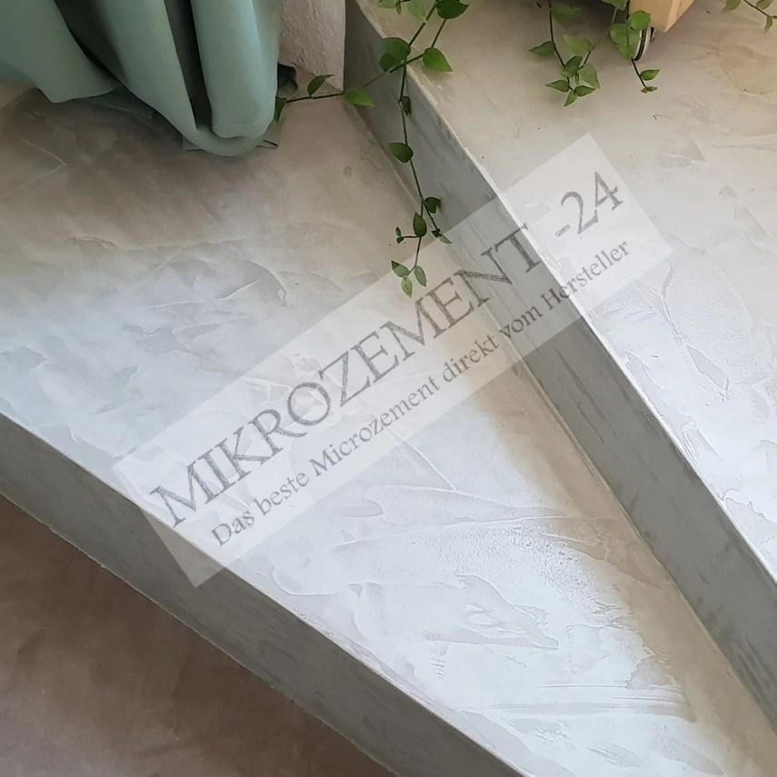 Mikrozement auf Treppen